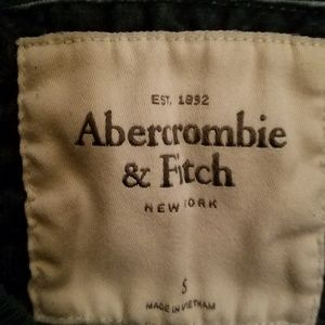 Women's Abercrombie and Fitch Green Sweatshirt S